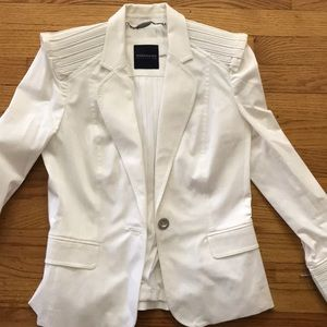 Magaschoni structured white blazer, never worn!